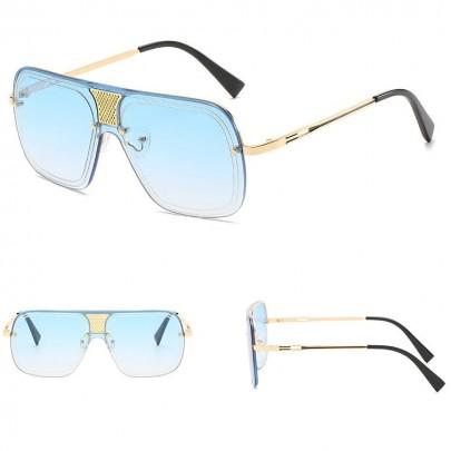 Napszemüveg Alonso kék