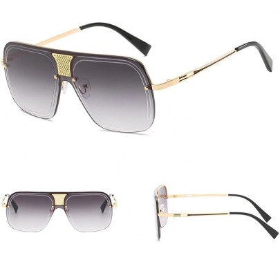 Napszemüveg Alonso fekete arany