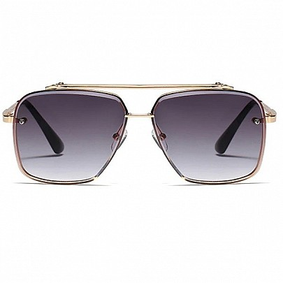Férfi napszemüveg Tatum fekete gold