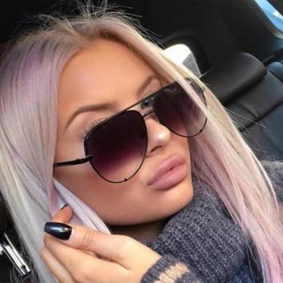 Női napszemüveg Ali fekete