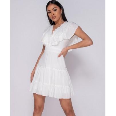 Női nyári fehér ruha