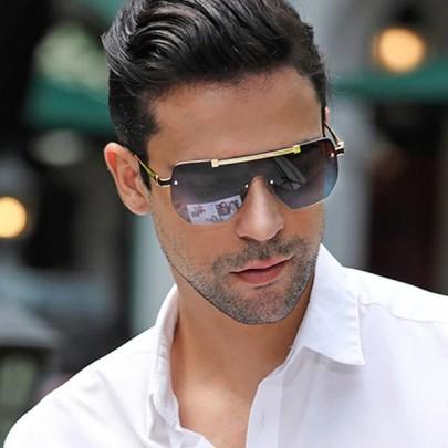 Férfi napszemüveg Niko fekete GR