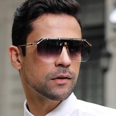 Férfi napszemüveg Rony fekete