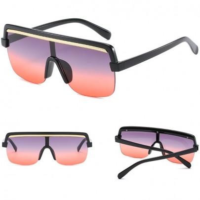 Női napszemüveg Siena fekete piros