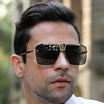 Férfi napszemüveg Erasmo fekete