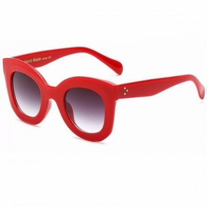 Női napszemüveg Ivette piros
