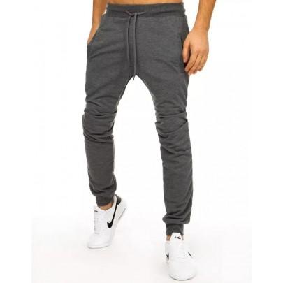 Modern férfi sötétszürke nadrág ux2882