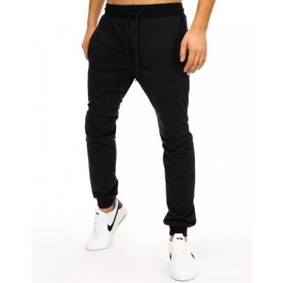Modern férfi fekete nadrág ux2884