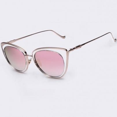 Női napszemüveg Elia arany keret rózsaszín üveg