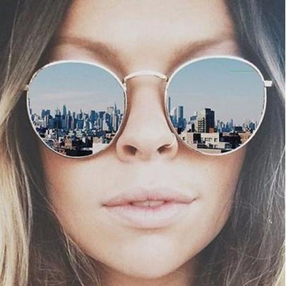 Női napszemüveg Lilja ezüst