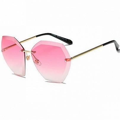 Női napszemüveg Eva piros