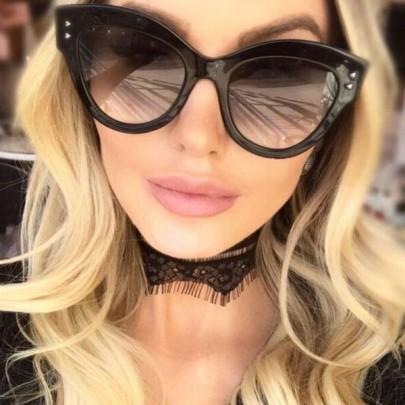 Női napszemüveg Sissy fekete