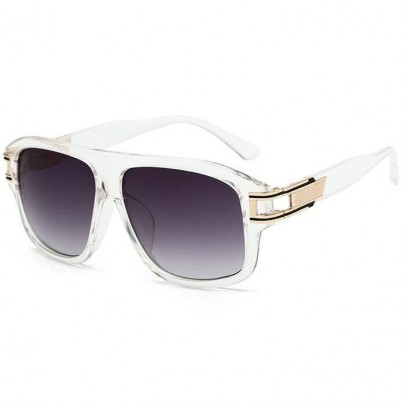 Férfi napszemüveg Theo áttetsző keret