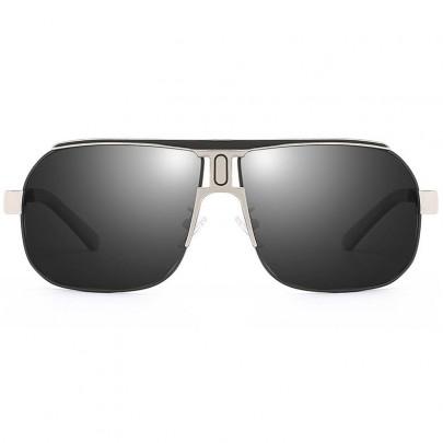 Polarizált pilóta napszemüveg Roy ezüst