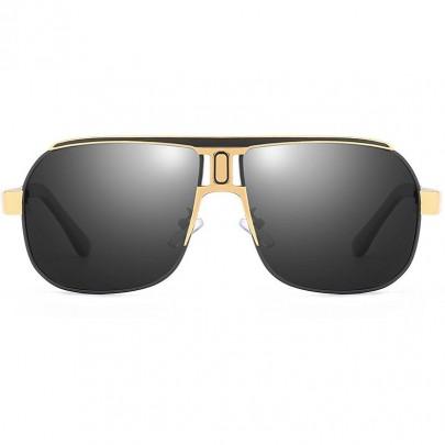 Polarizált pilóta napszemüveg Roy fekete