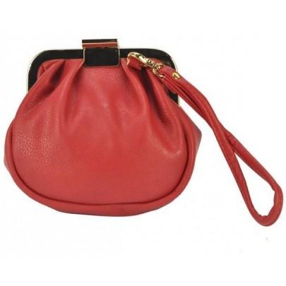 Női érdekes pénztárca - piros