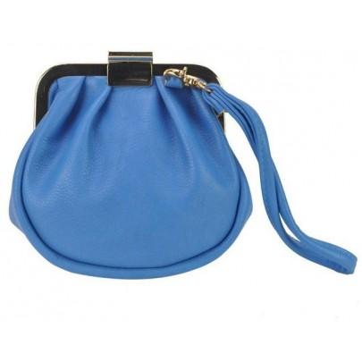 Női érdekes pénztárca - kék