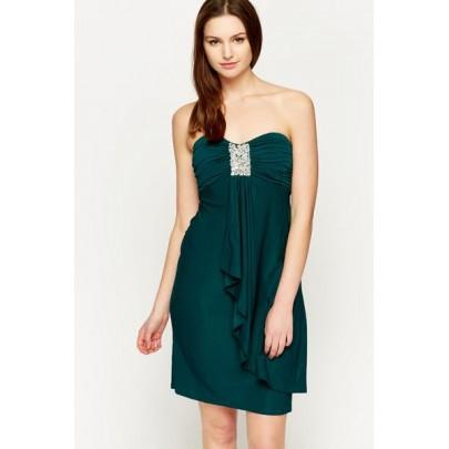 Női ruha Treasure - sötét zöld