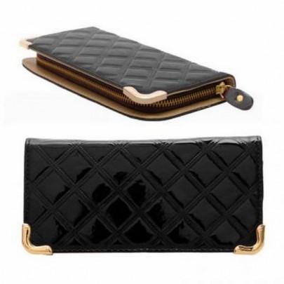 Stílusos pénztárca - fekete