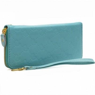 Stílusos pénztárca - kék