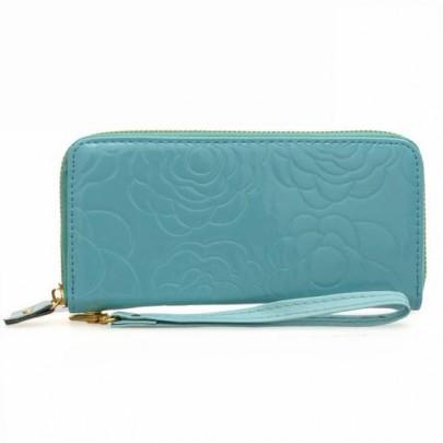 Divatos pénztárca ROSE - kék