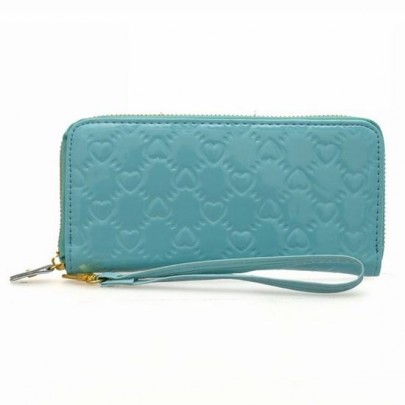Divatos pénztárca LOVE - kék