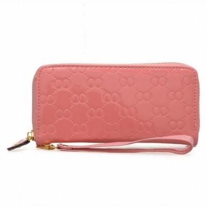 Divatos pénztárca - rózsaszín