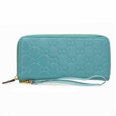 Divatos pénztárca - kék