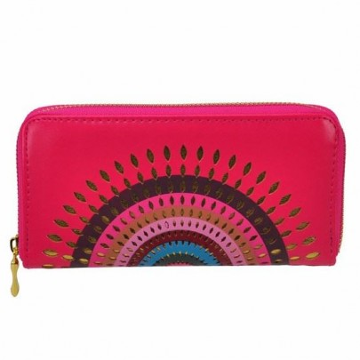 Stílusos pénztárca Aztec rózsaszín