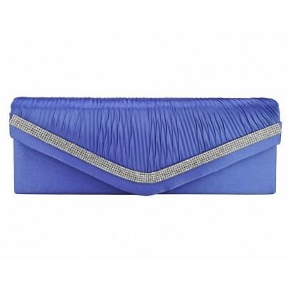 Estélyi/levél táska - világos kék