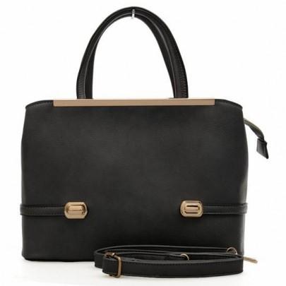 Stílusos táska - szürke