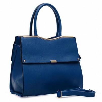 Stílusos táska - kék