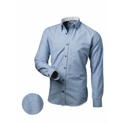 Férfi világos kék ing