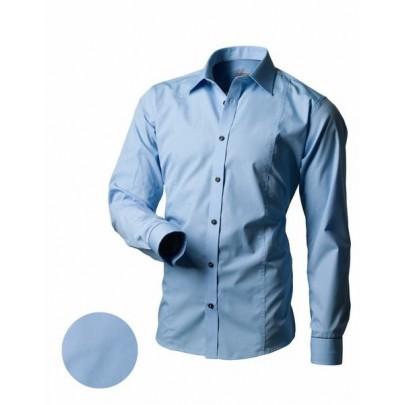 Férfi kék ing