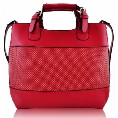 Stílusos táska - piros