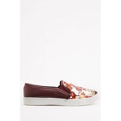 Női Slip On cipő - piros