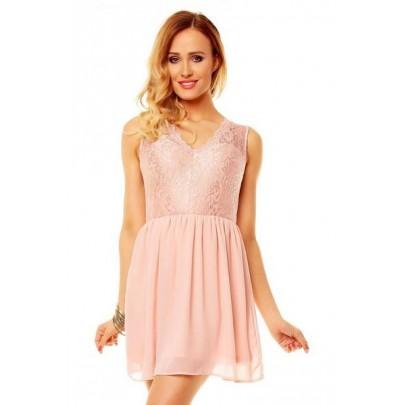 Női rózsaszín ruha Piera