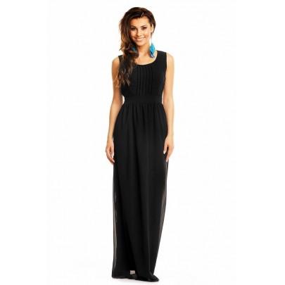 Női ruha Maia fekete