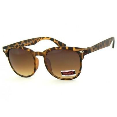 Napszemüveg WAYFARER - barna matt keret barna üveg Leo