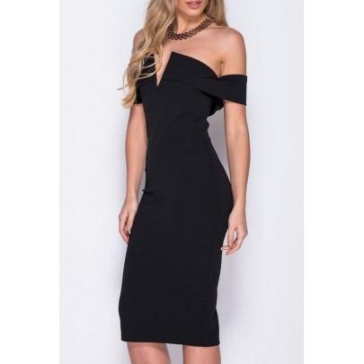 Női fekete ruha Ella