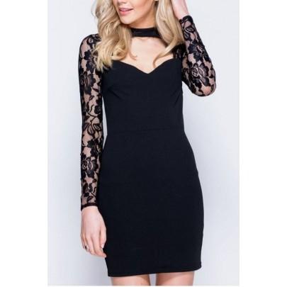 Női fekete ruha Chloe