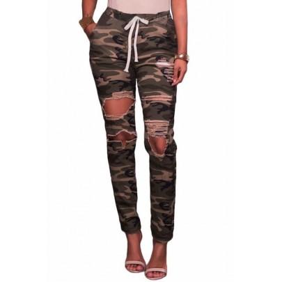 Army mintával kiegészített Donna nadrág
