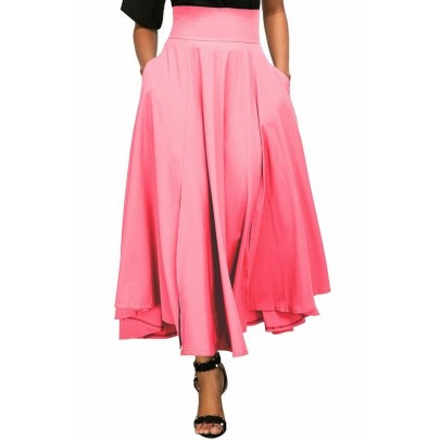 Női retró szoknya Madeline - rózsaszín