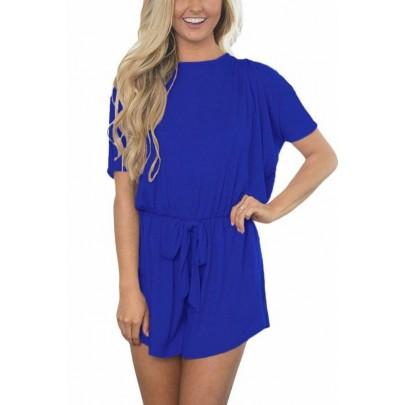 Női overall - rövidnadrág Lyanna - kék