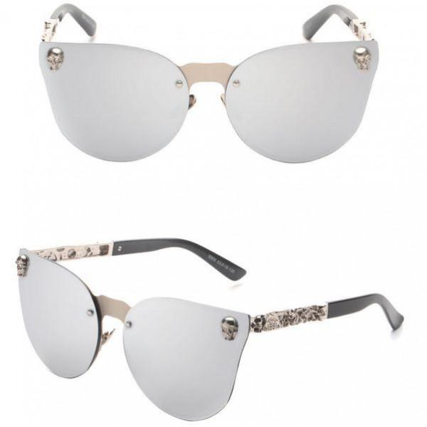 Női napszemüveg Selena ezüst
