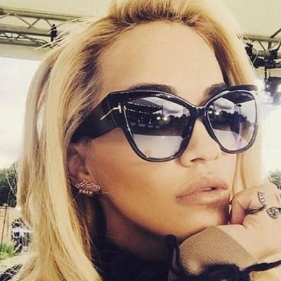 Női napszemüveg Massive fekete