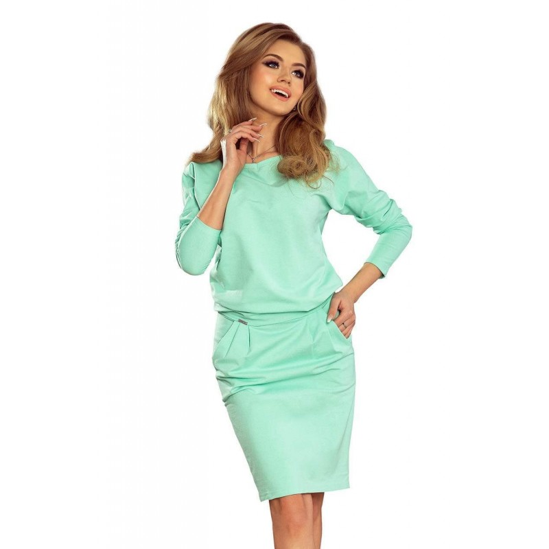 9a6d8f96a0 Stílusos női ruha Tessa - menta 189-1 | Bellago.hu