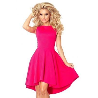 Divatos női ruha Nancy rózsaszín v66-3