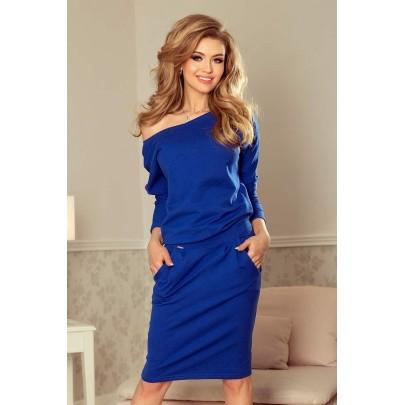 Stílusos női ruha Tessa kék 189-2