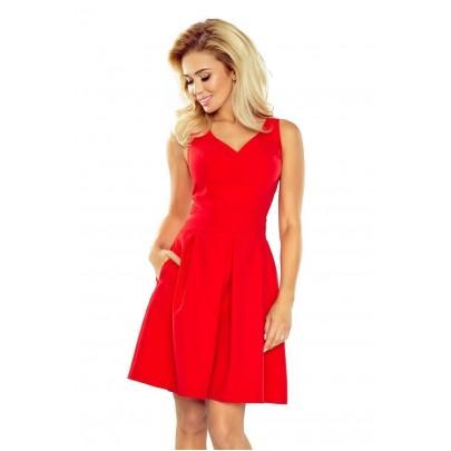 Női ruha Rosella - piros 160-3